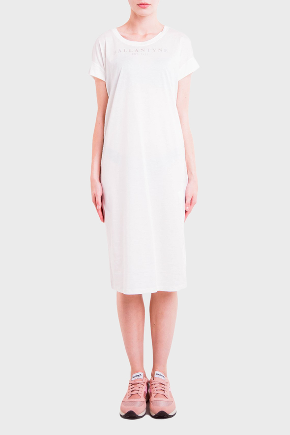 Женское белое платье T-SHIRT PIMA JERSEY