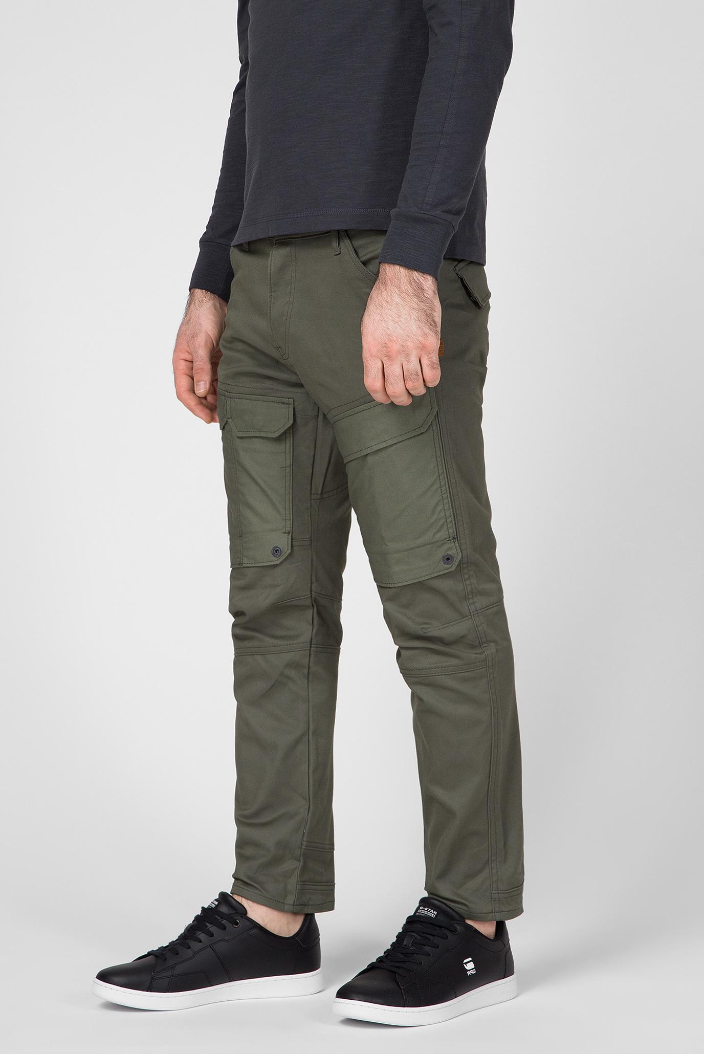 Чоловічі зелені карго Front pocket G-Star RAW