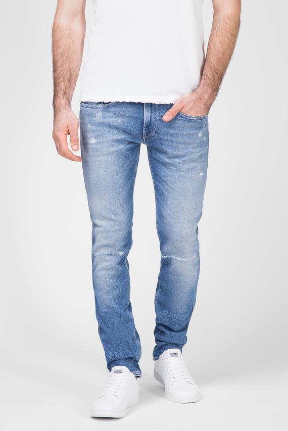 Мужские синие джинсы ANBASS