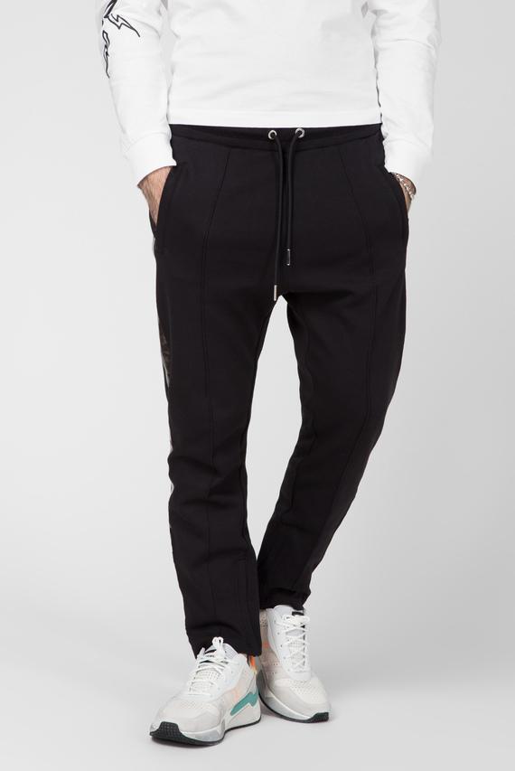 Мужские черные спортивные брюки P-RUSY-J