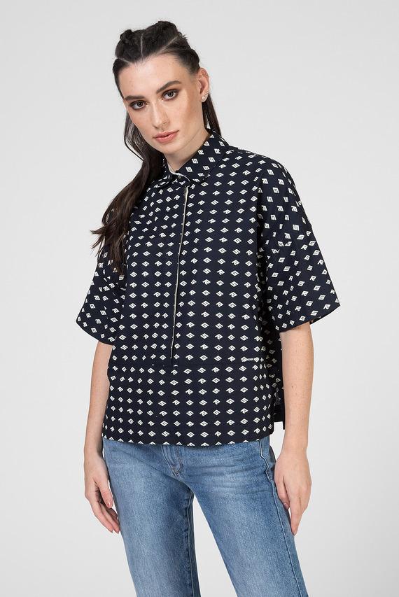 Женская темно-синяя рубашка Core polo wmn s\s