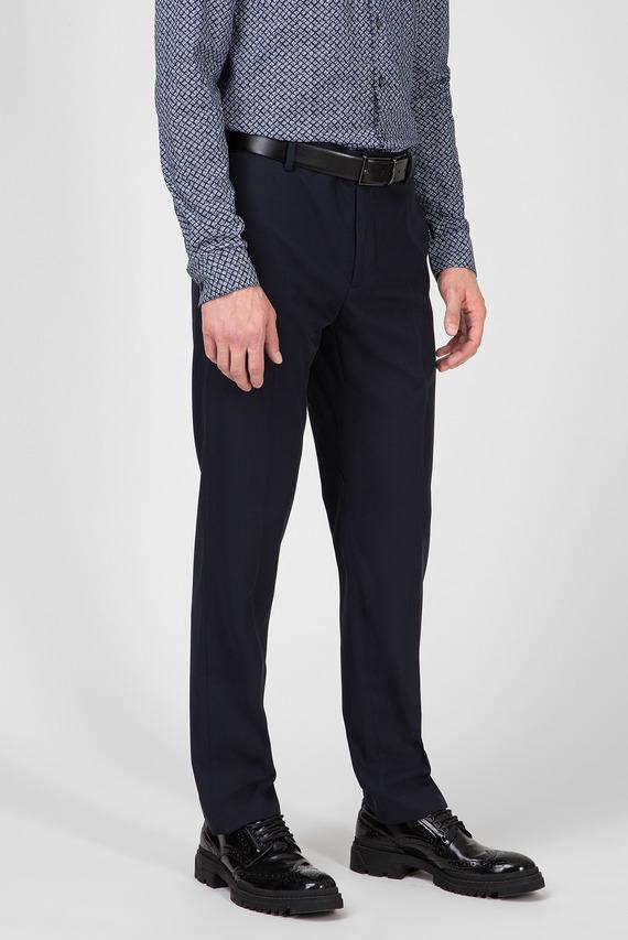 Мужские темно-синие брюки STRETCH GABARDINE TRAVEL