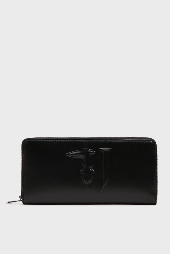 Женский черный кошелек T-EASY ZIP 3PKT LG