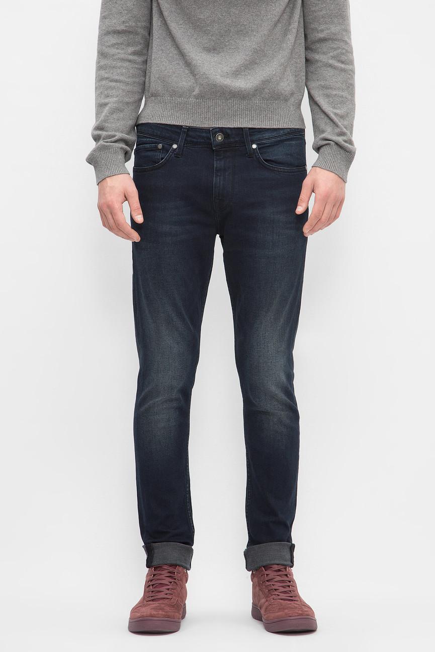 Мужские темно-синие джинсы FINSBURY