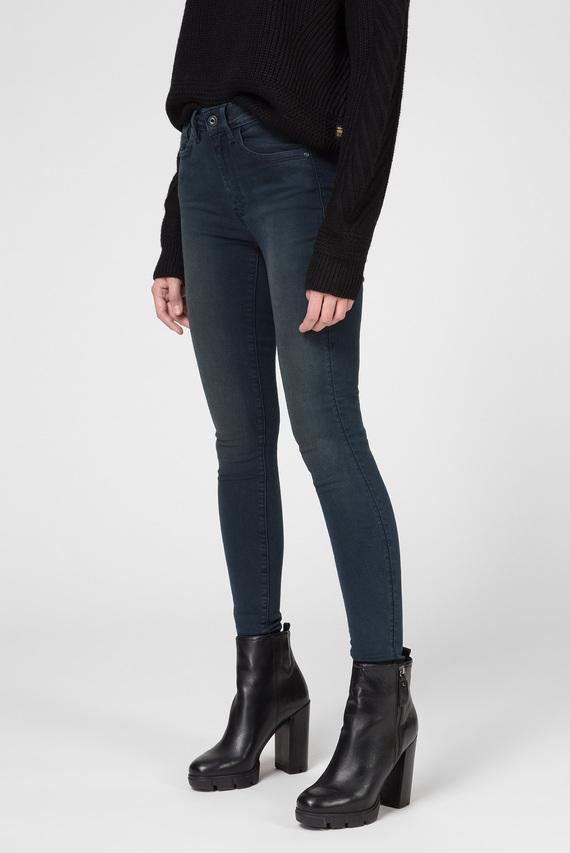 Женские темно-синие джинсы Lhana High Super Skinny