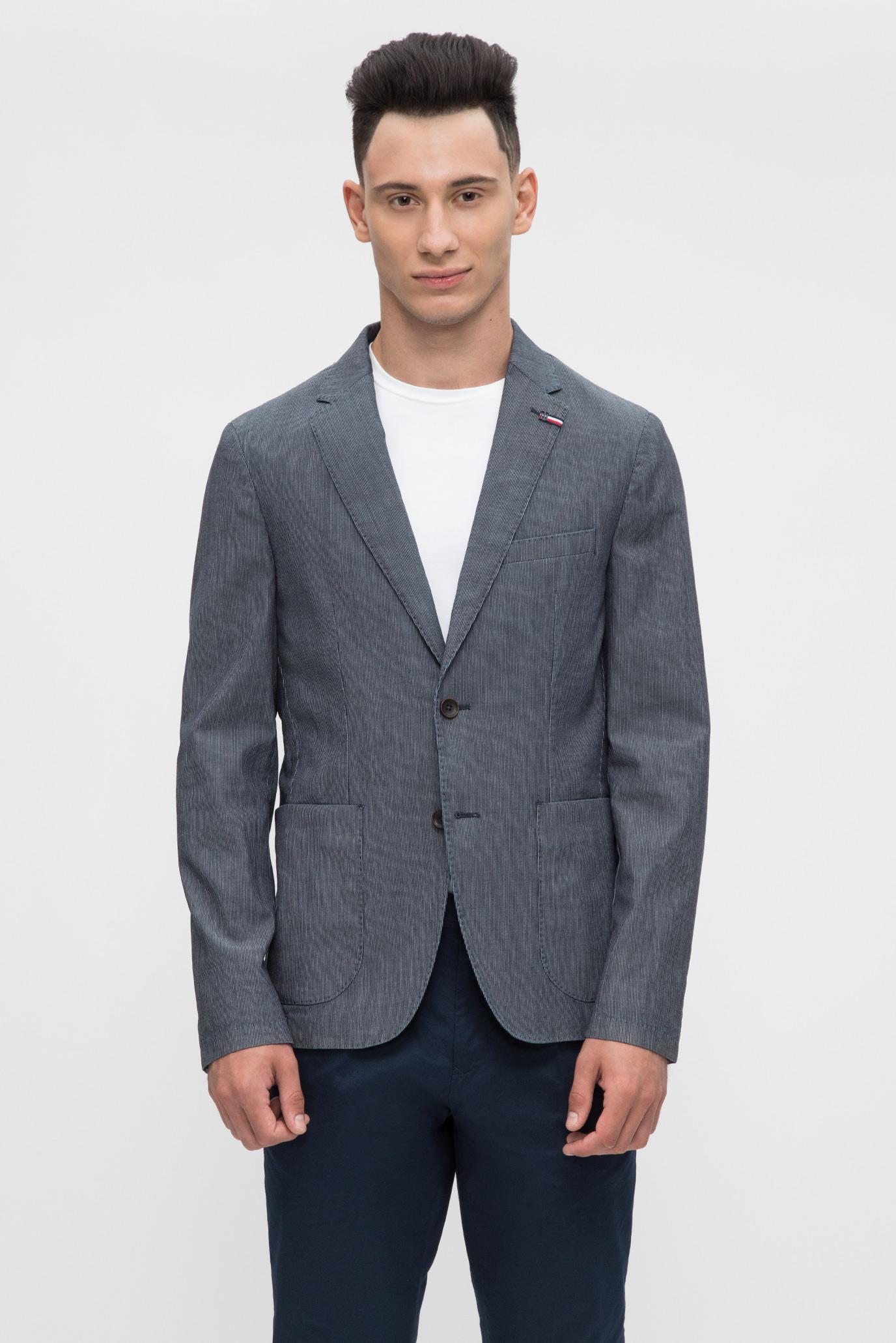 ffaaccdf9753 Купить Мужской синий пиджак Tommy Hilfiger Tommy Hilfiger MW0MW05269 –  Киев, Украина. Цены в интернет магазине MD Fashion