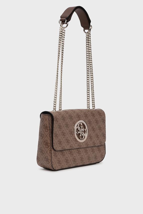 Женская коричневая сумка на плечо OPEN ROAD