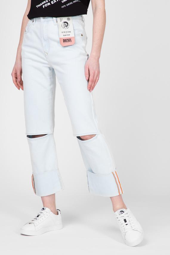 Женские голубые джинсы D-REGGY