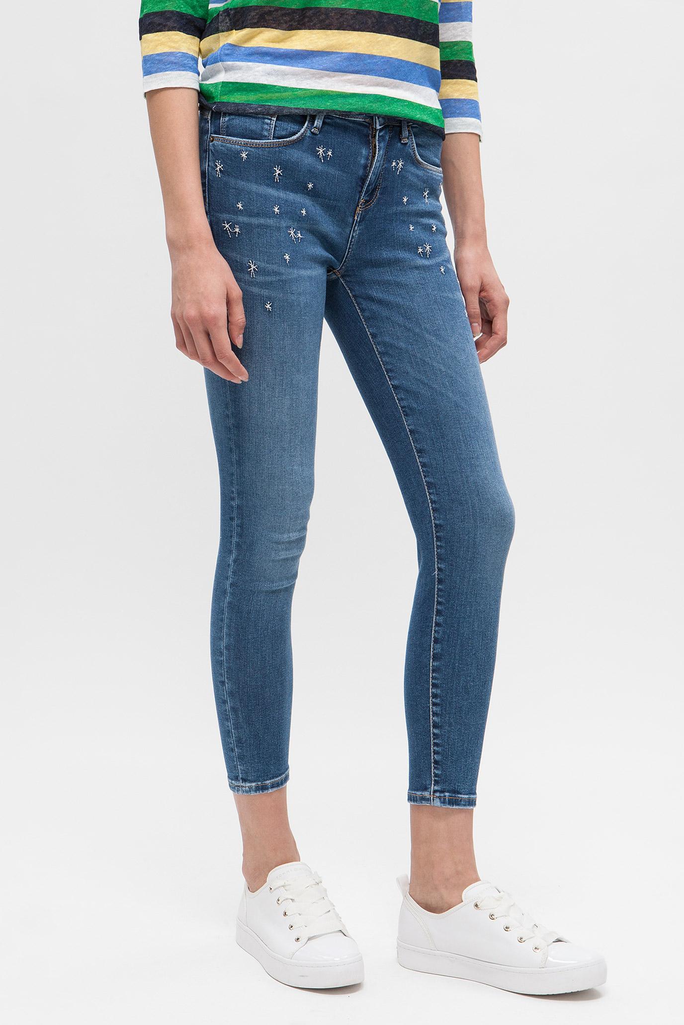 Купить Женские голубые джинсы COMO RW CROPPED ISA Tommy Hilfiger Tommy Hilfiger WW0WW22000 – Киев, Украина. Цены в интернет магазине MD Fashion