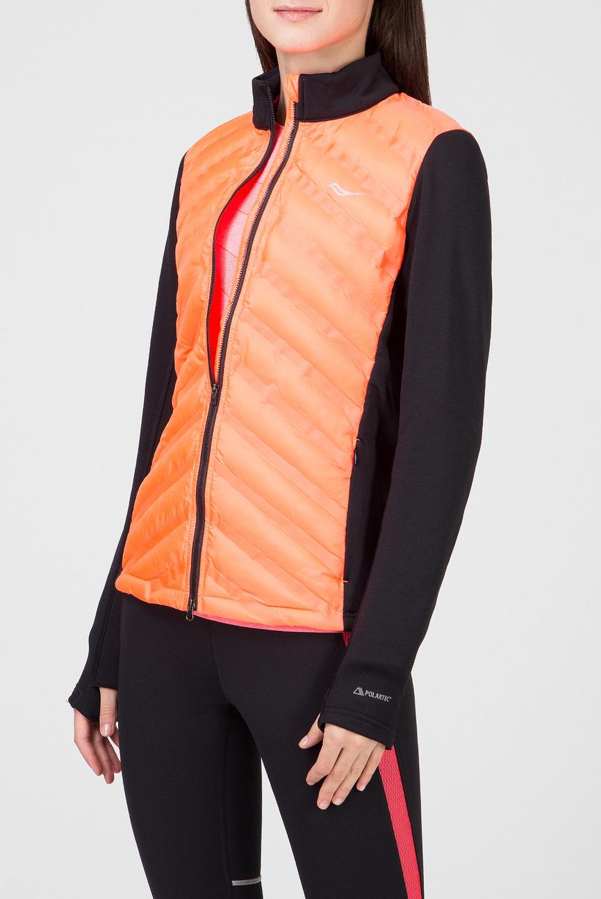 Женская оранжевая куртка