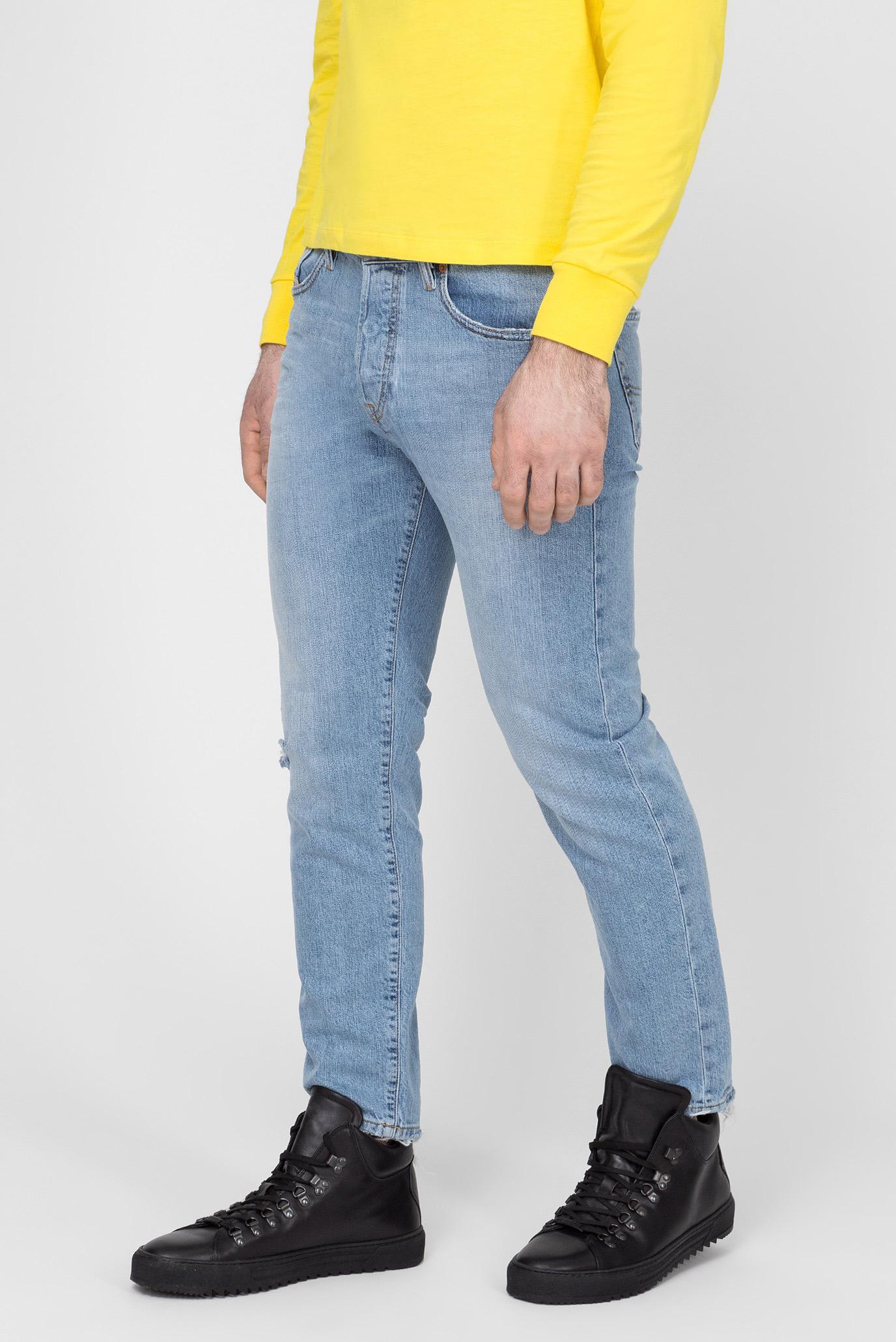 Мужские голубые джинсы MHARKY Diesel