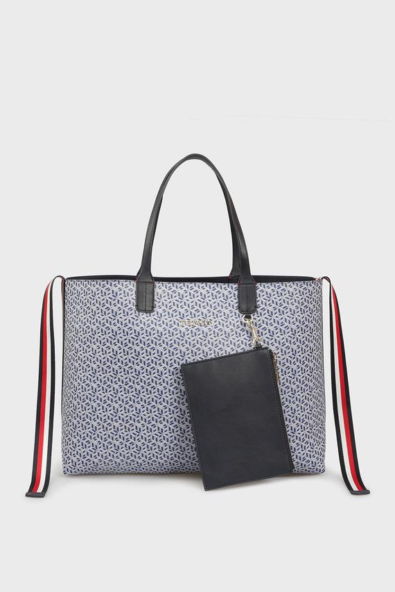 Женская сумка на плечо ICONIC TOMMY TOTE MONOGRAM