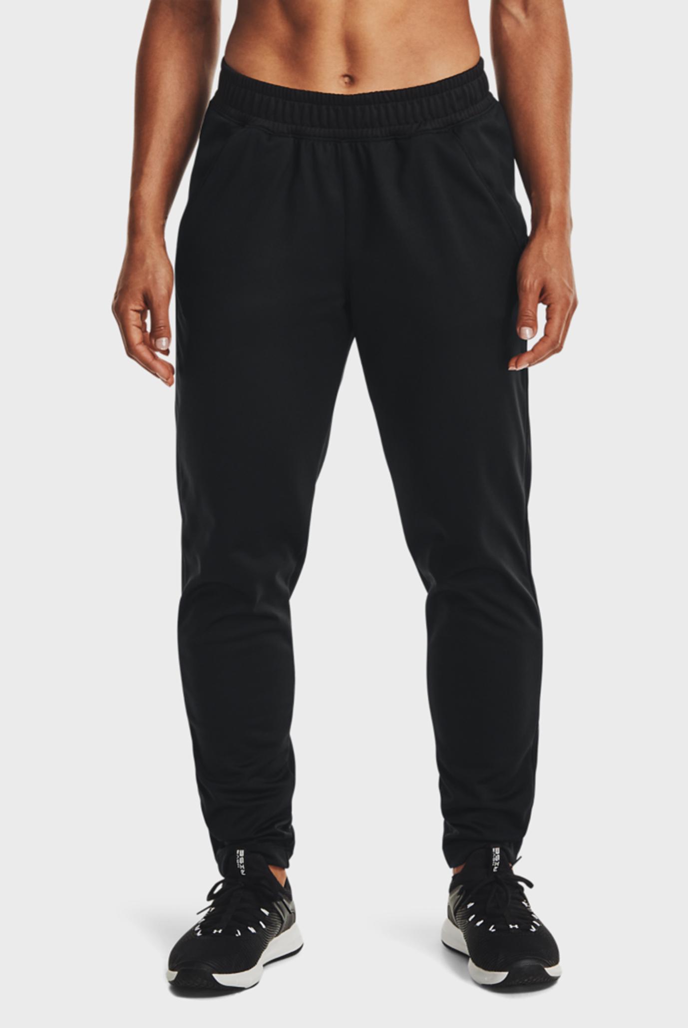 Женские черные спортивные штаны UA Tricot Pant 1