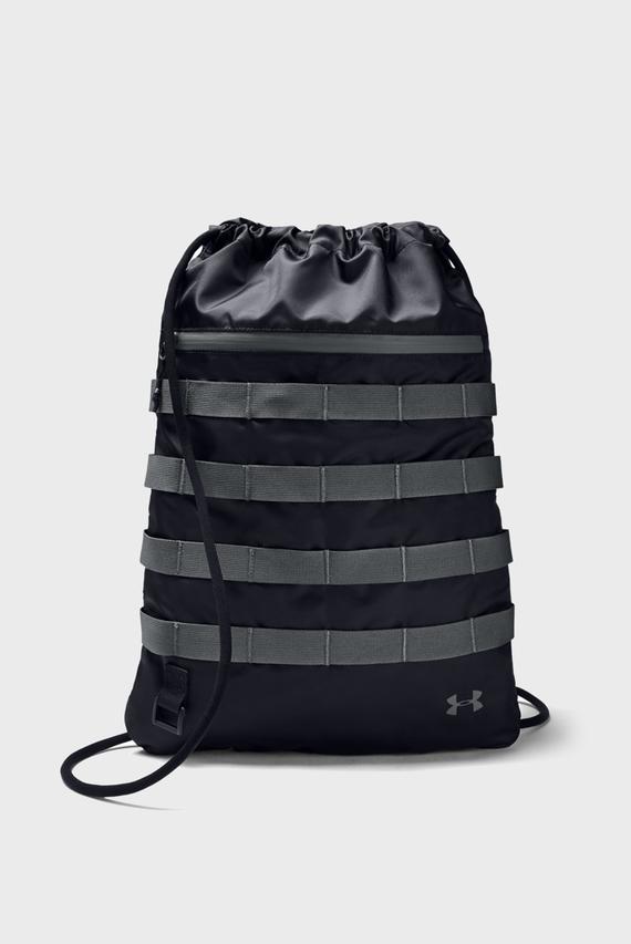 Черный рюкзак UA Sportstyle Sackpack-BLK