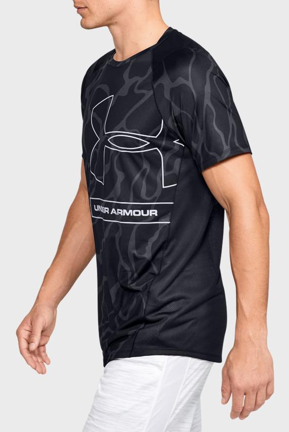 Мужская черная спортивная футболка с принтом MK1 Tonal Print SS