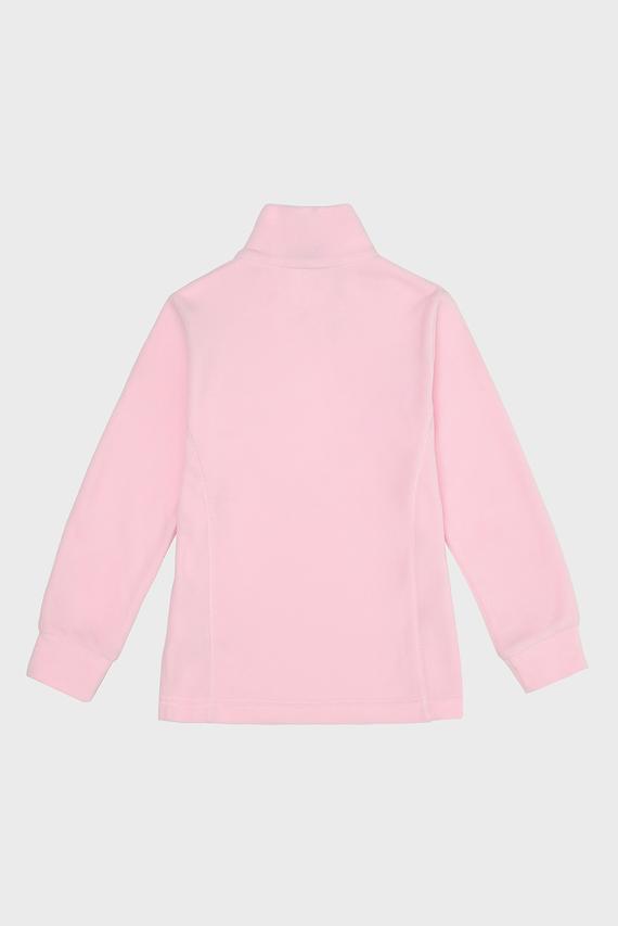 Детская розовая спортивная кофта