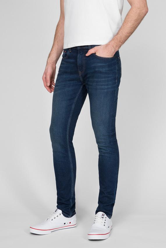 Мужские темно-синие джинсы STEVE SLIM TAPERED