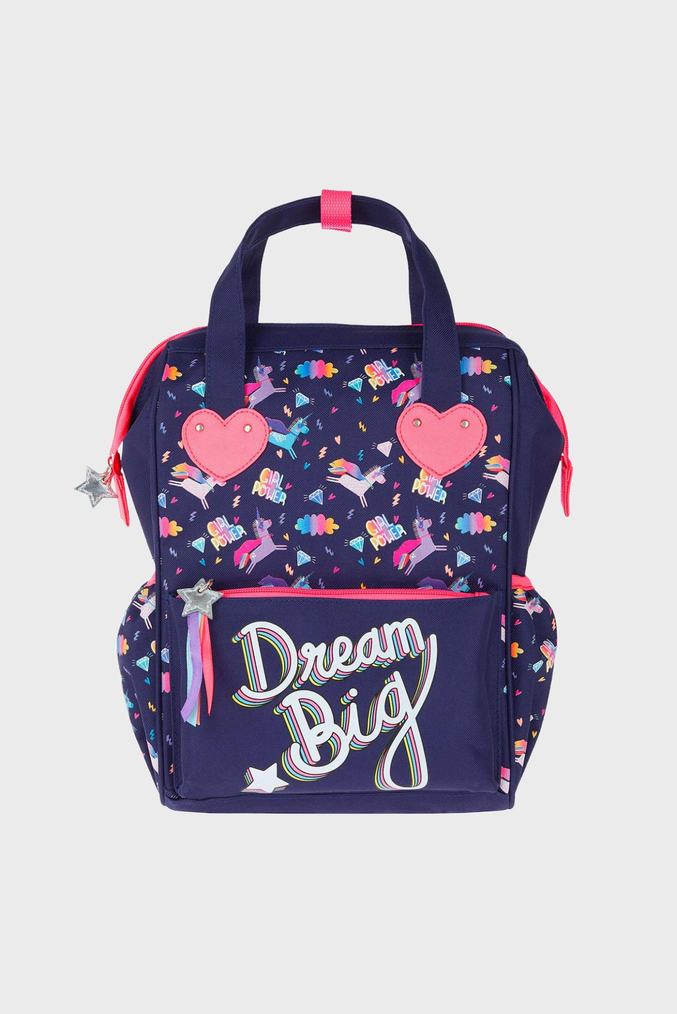 Детский темно-синий рюкзак DREAM BIG UNICORN TO Accessorize