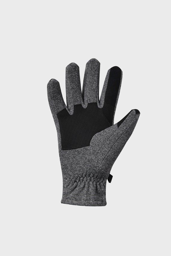 Мужские серые перчатки CGI Fleece Glove