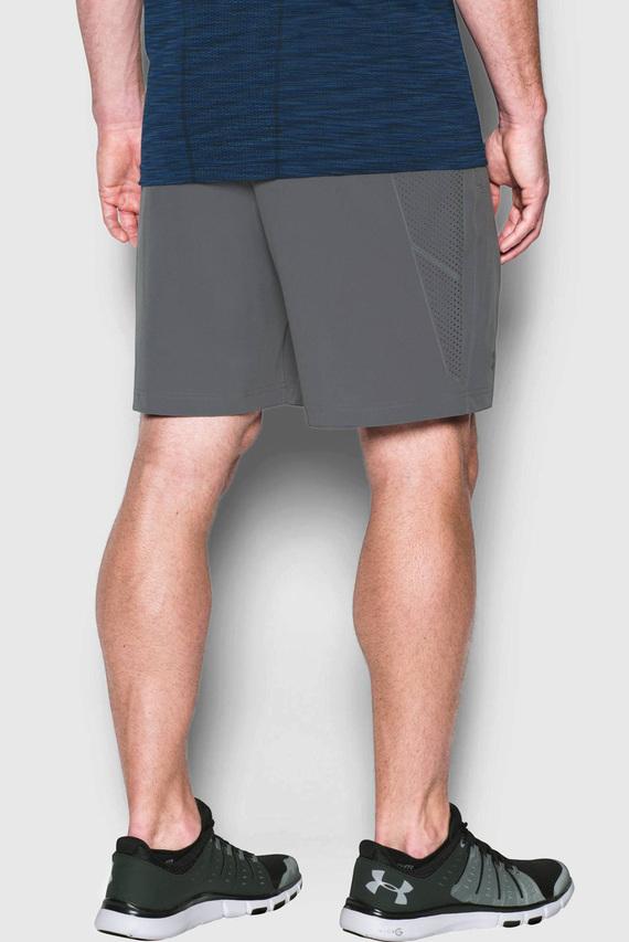 Мужские серые шорты UA STORM VORTEX SHORT 2.0