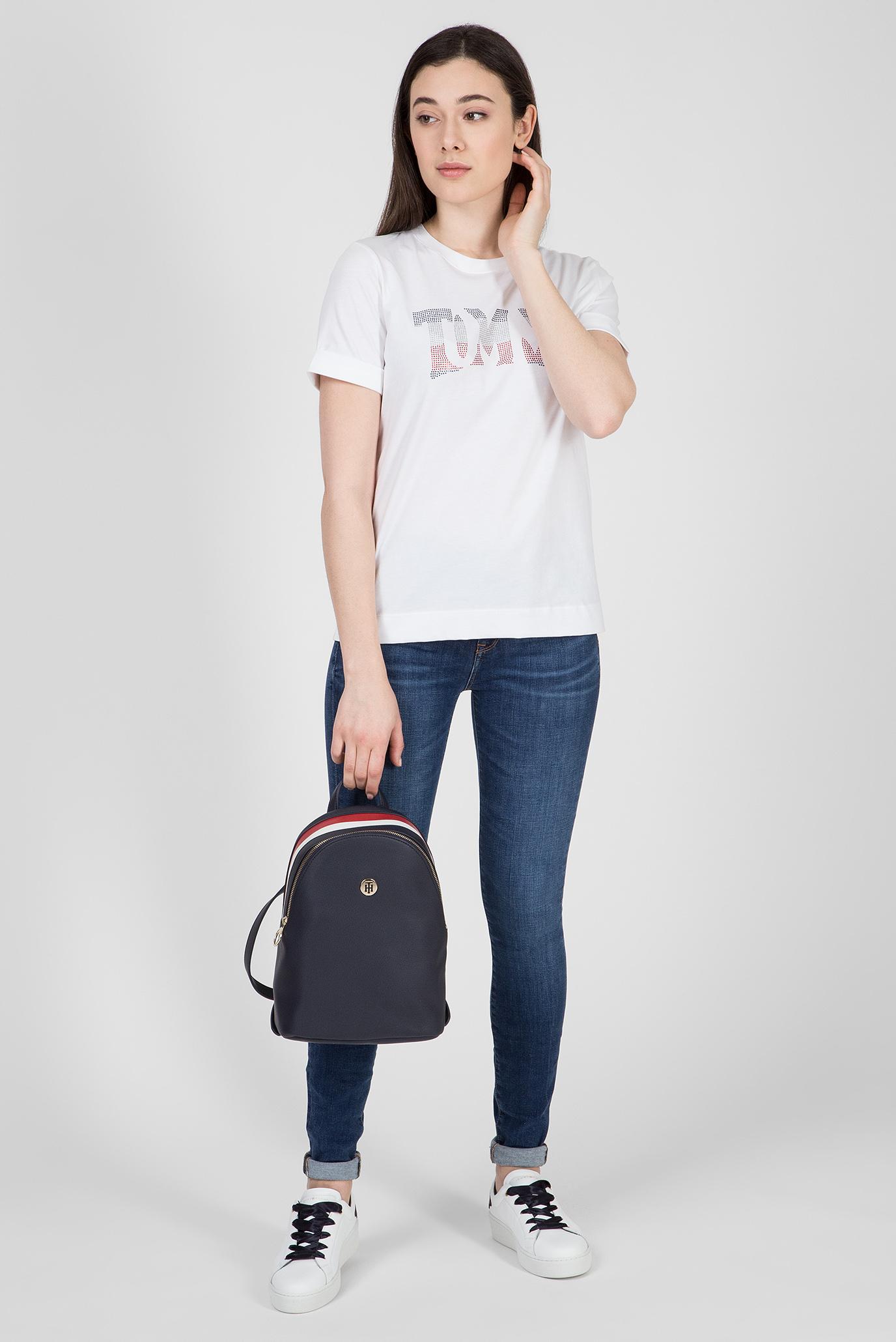 Купить Женские синие джинсы COMO RW VENUS Tommy Hilfiger Tommy Hilfiger WW0WW23827 – Киев, Украина. Цены в интернет магазине MD Fashion