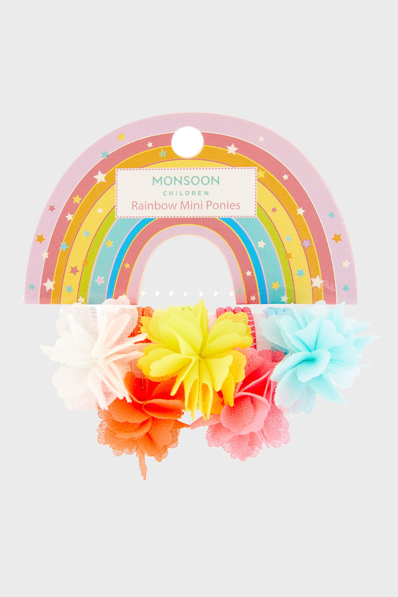 Купить Детская заколка для волос Rainbow Mini Pony  Monsoon Children Monsoon Children 710218 – Киев, Украина. Цены в интернет магазине MD Fashion