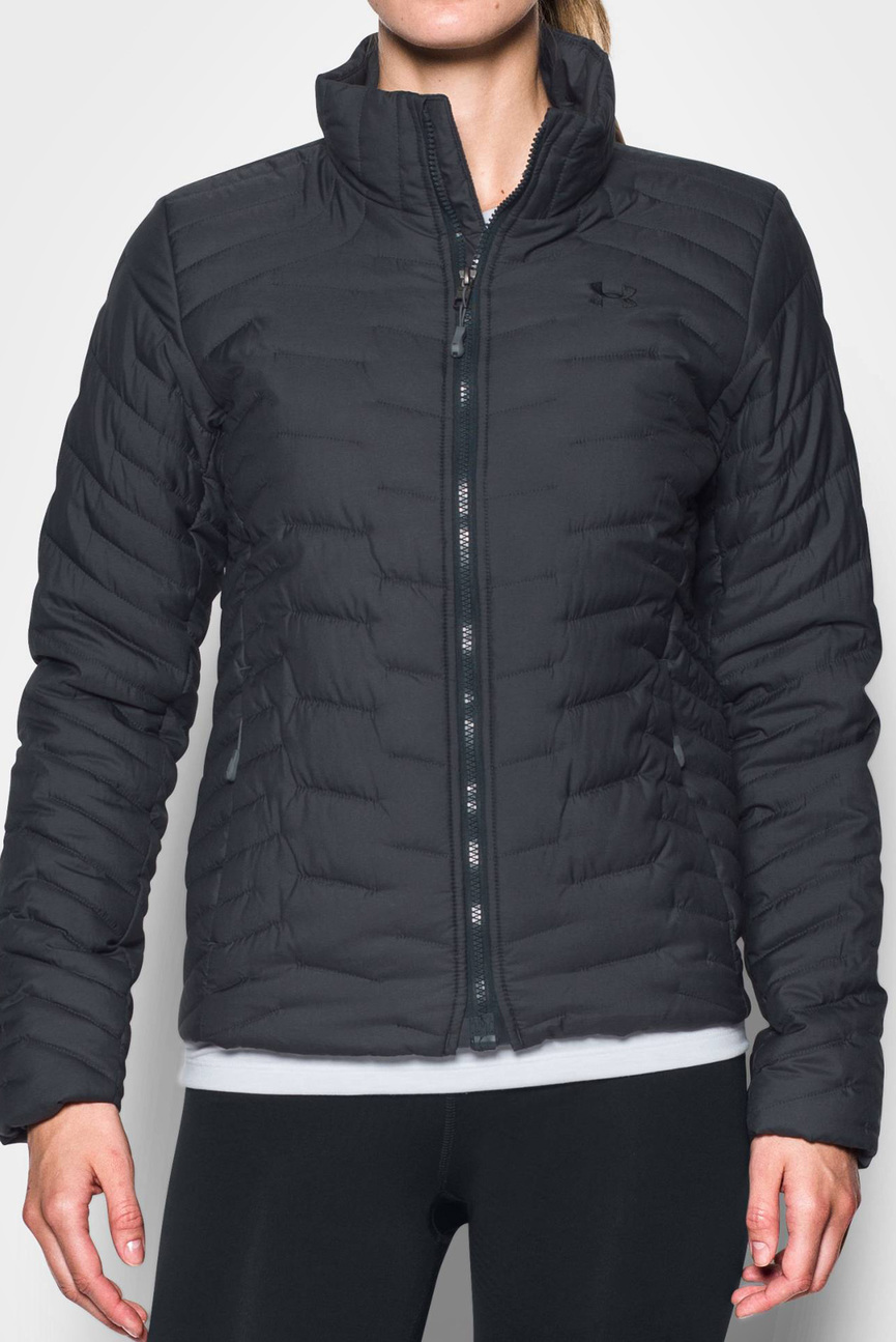 Женская серая куртка UA CGR Jacket