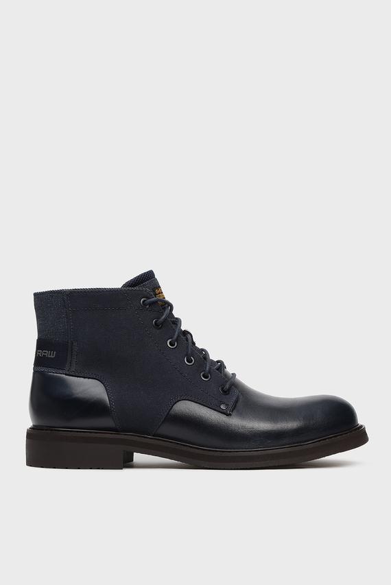Мужские синие ботинки Garber