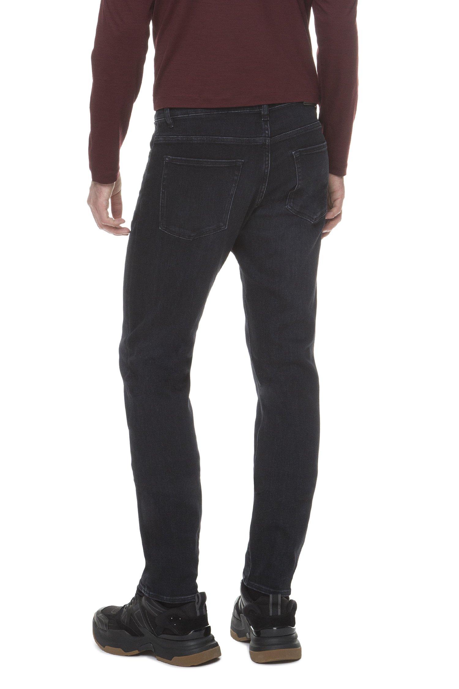 Мужские темно-синие джинсы Candiani Slim Fit BOSS