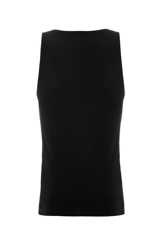 Набор мужских черных маек Slim fit (2 шт)