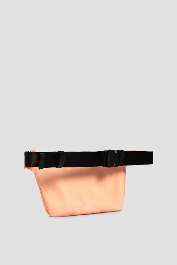 Мужская оранжевая поясная сумка
