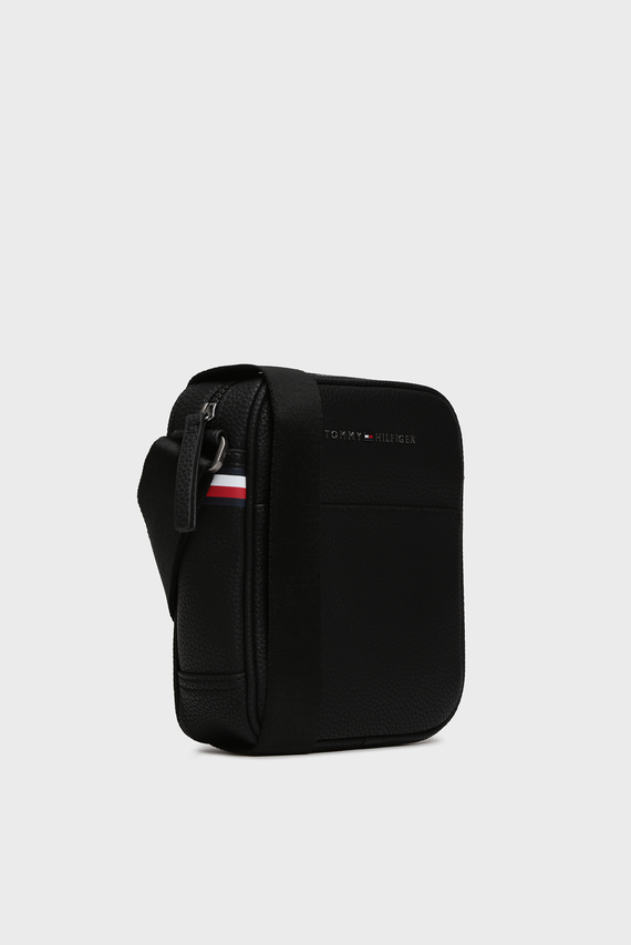 Мужская черная сумка через плечо ESSENTIAL MINI