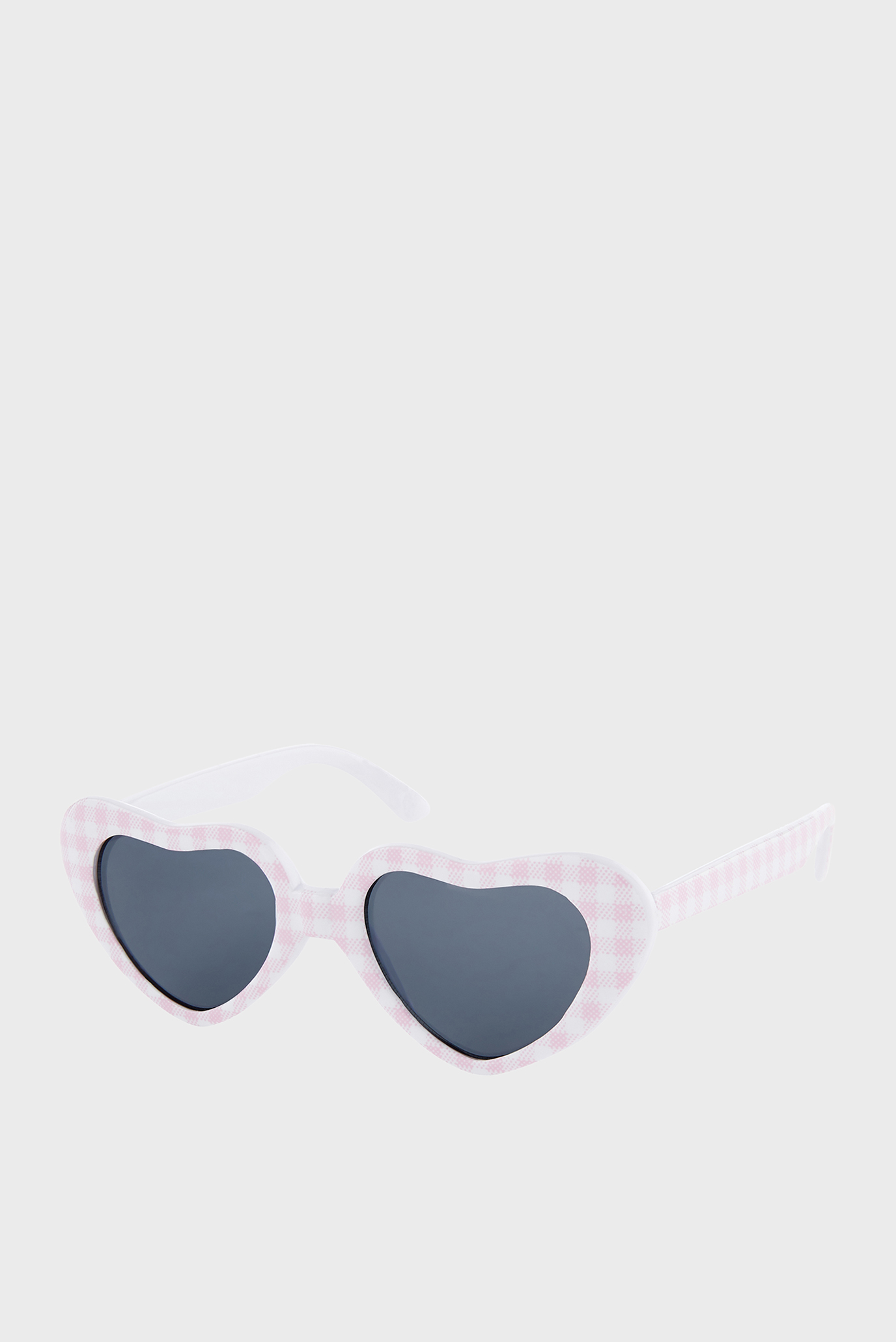 Дитячі білі окуляри BABY PINK GING 1