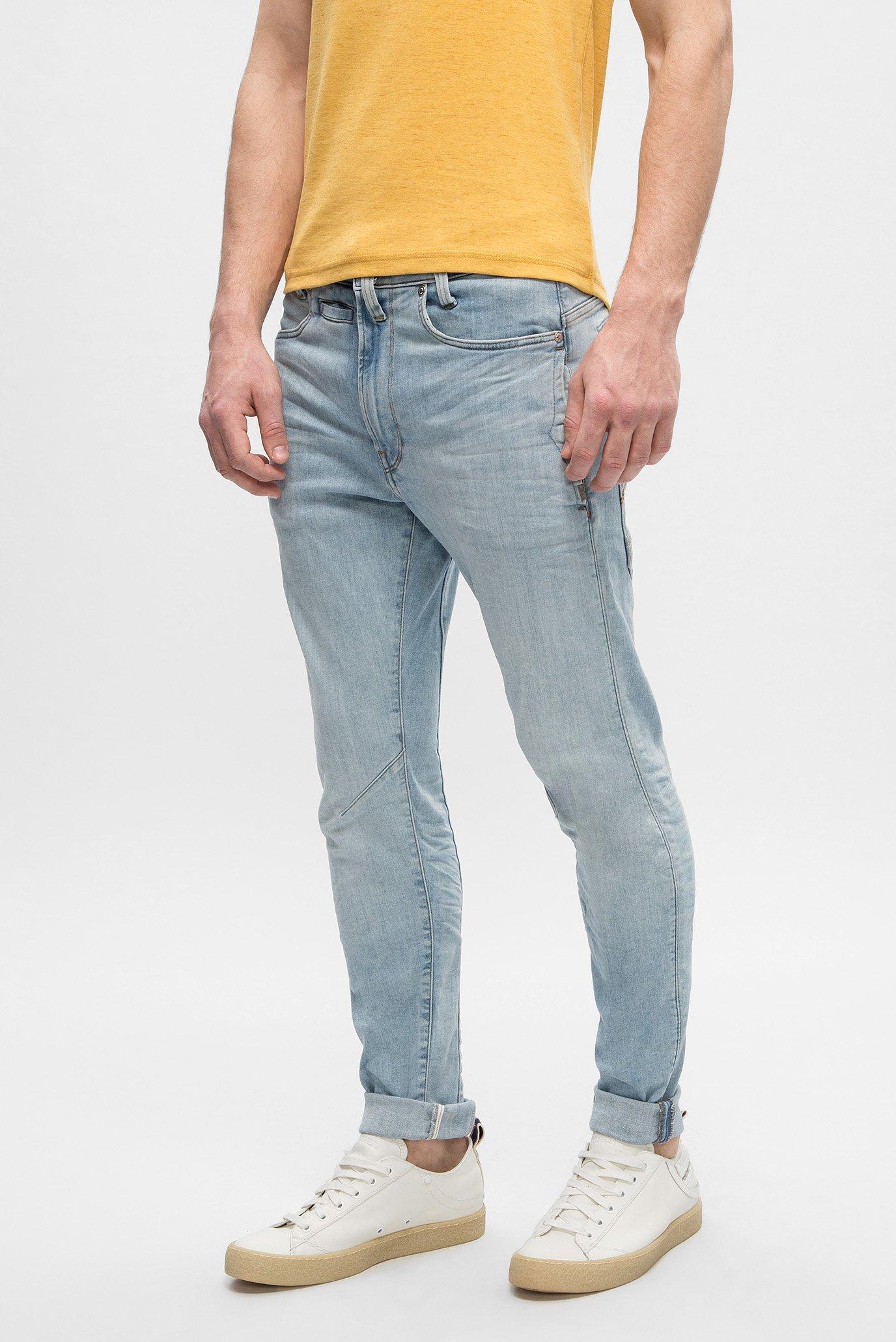 Купить Мужские голубые джинсы D-STAQ  G-Star RAW G-Star RAW D05385,8968 – Киев, Украина. Цены в интернет магазине MD Fashion