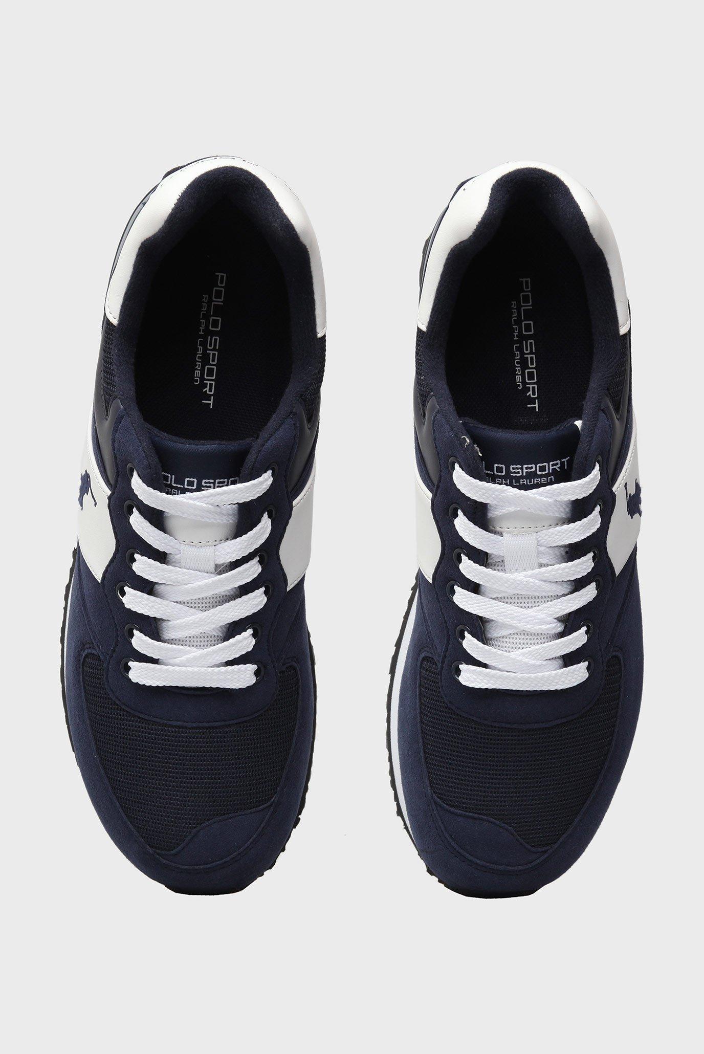 Купить Мужские синие кроссовки Polo Ralph Lauren Polo Ralph Lauren  A85-Y2136ROKDW – Киев, Украина. Цены в ... 9f616e703ed