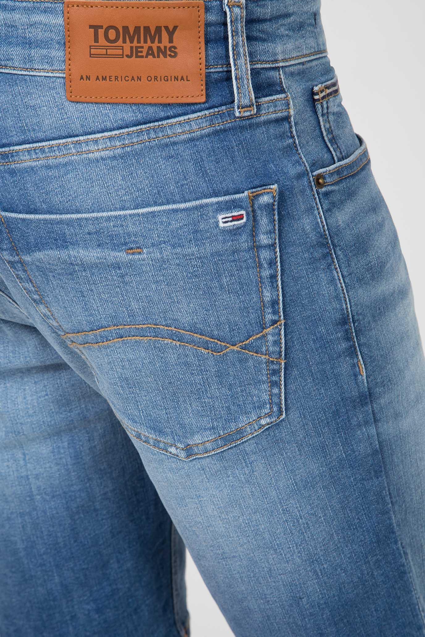 Мужские синие джинсовые шорты SCANTON SLIM Tommy Hilfiger