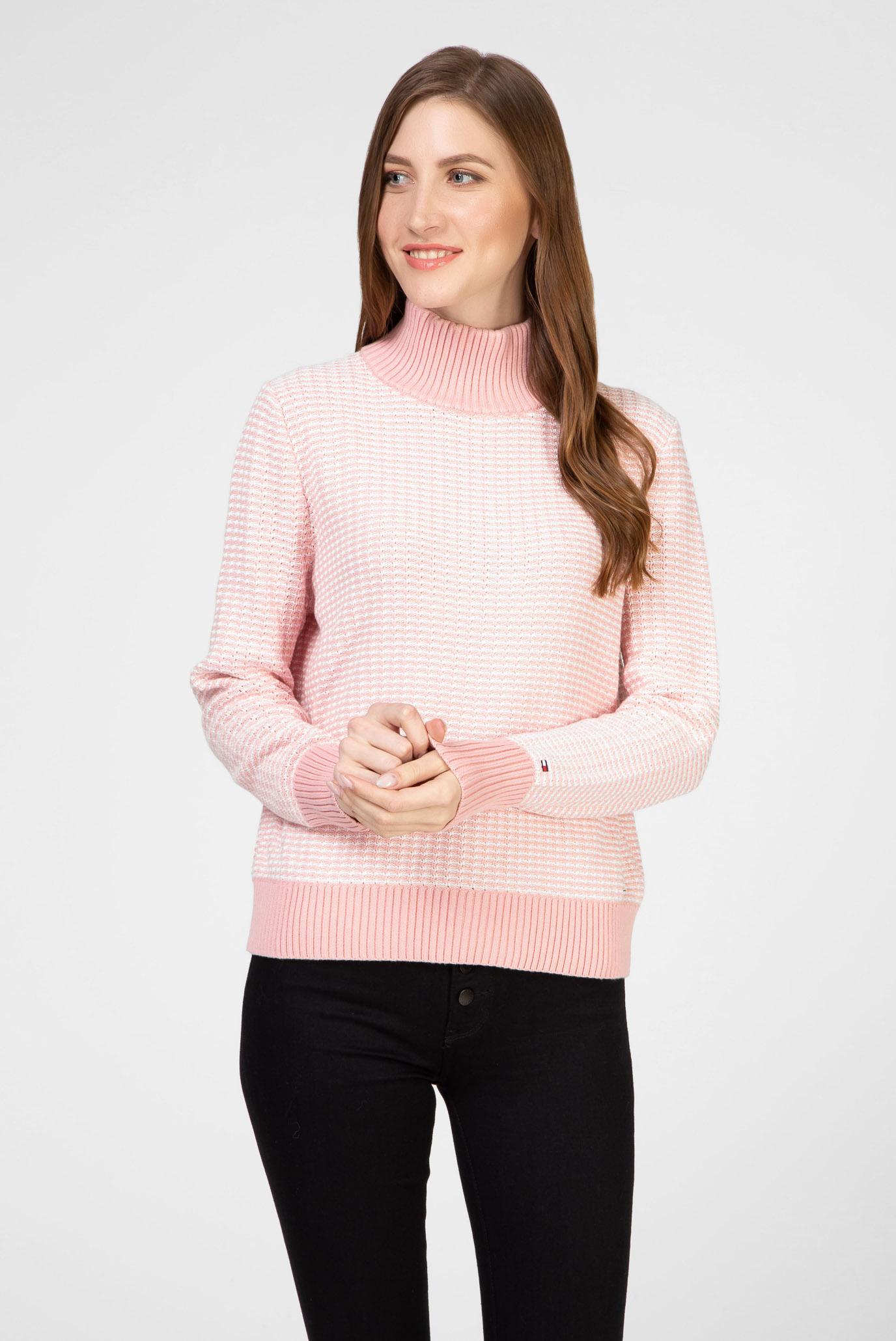 Жіночий рожевий светр AD MARLA MOCK-NK 1
