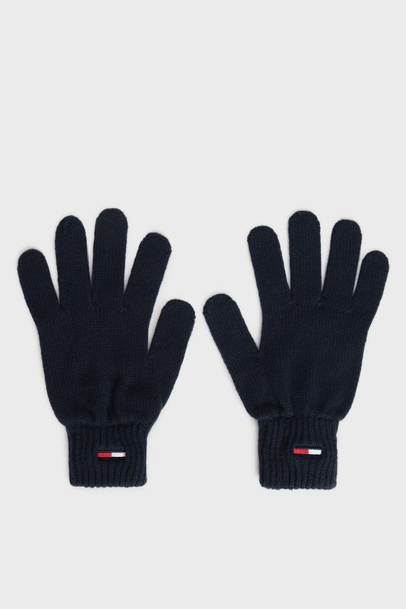Мужские синие перчатки TJM BASIC FLAG RIB
