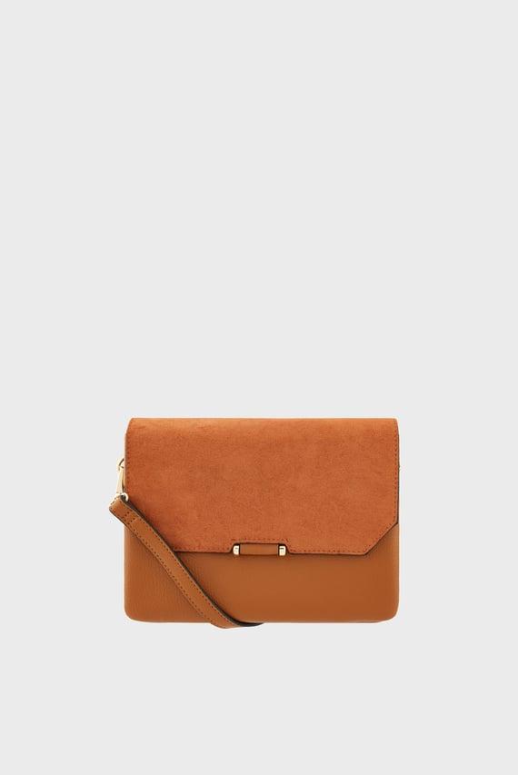 Женская коричневая сумка CALLIE XBODY