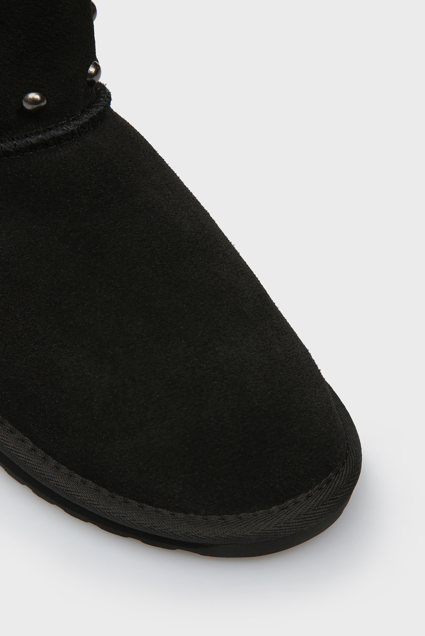 Купить Женские черные замшевые угги Stinger Stud Mini EMU Australia  EMU Australia  W11885 – Киев, Украина. Цены в интернет магазине MD Fashion