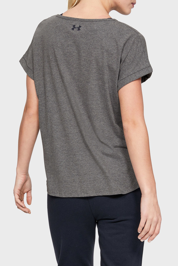 Женская серая футболка GRAPHIC ENTWINED FASHION SSC