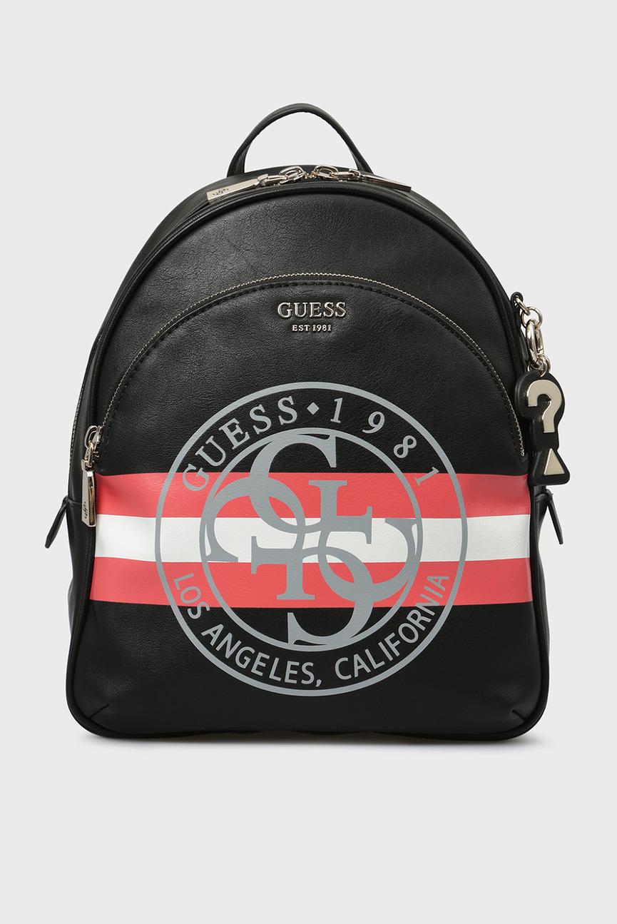 Женский черный рюкзак DETAIL LARGE