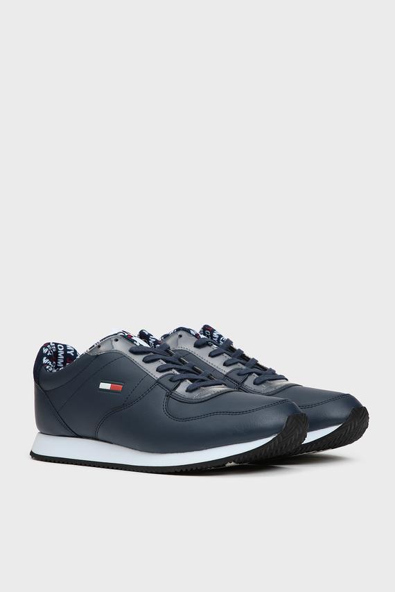 Мужские темно-синие кроссовки CASUAL