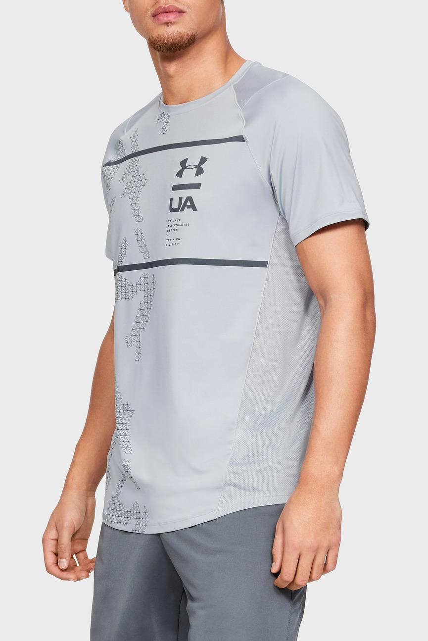 Мужская светло-серая футболка MK1 SS Q2 Printed