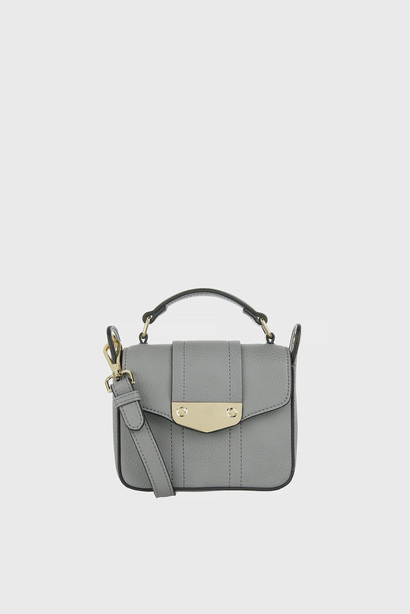 0b7205f7e7d8 Купить Женская серая сумка на плечо Accessorize Accessorize 389633 – Киев,  Украина. Цены в интернет магазине MD Fashion