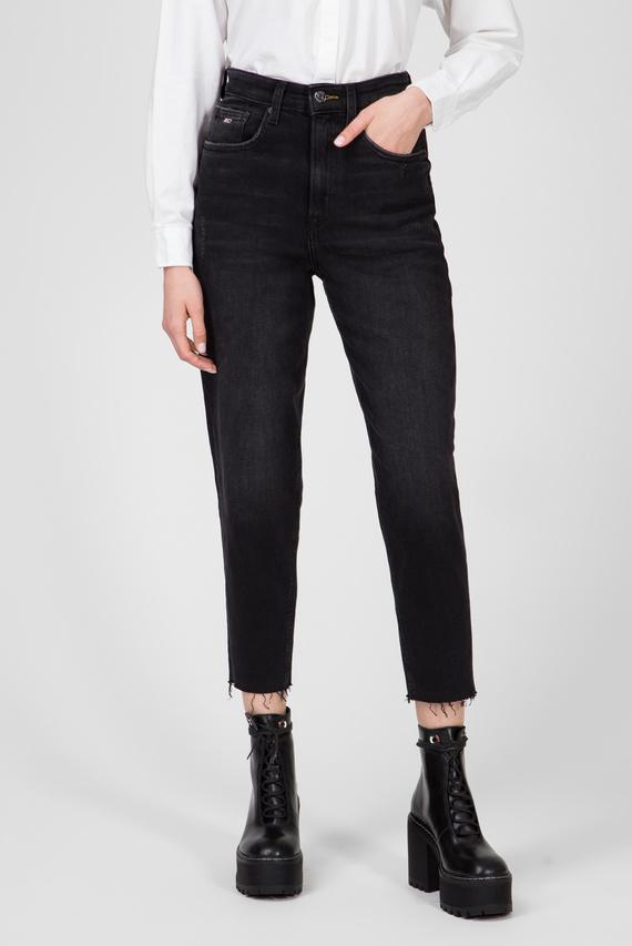 Женские черные джинсы MOM JEAN HIGH RISE TAPERED