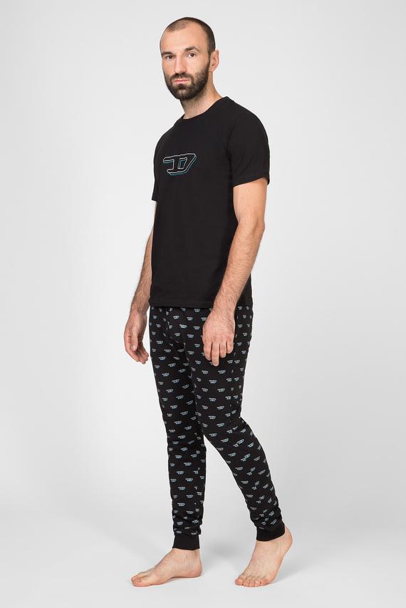 Мужская черная пижама UMSET-JAKE-JULIO