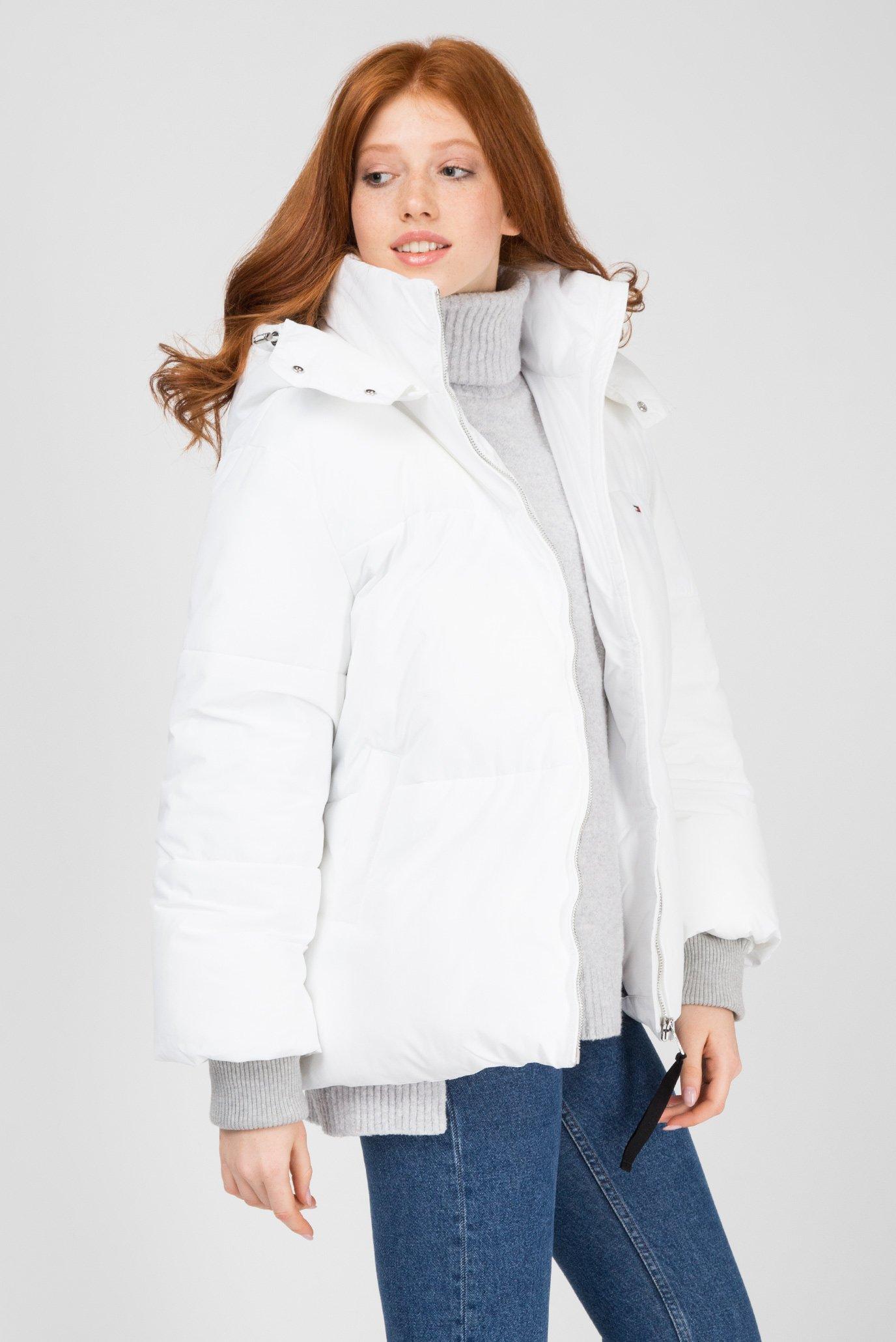Купить Женская белая куртка Tommy Hilfiger Tommy Hilfiger DW0DW05183 – Киев, Украина. Цены в интернет магазине MD Fashion