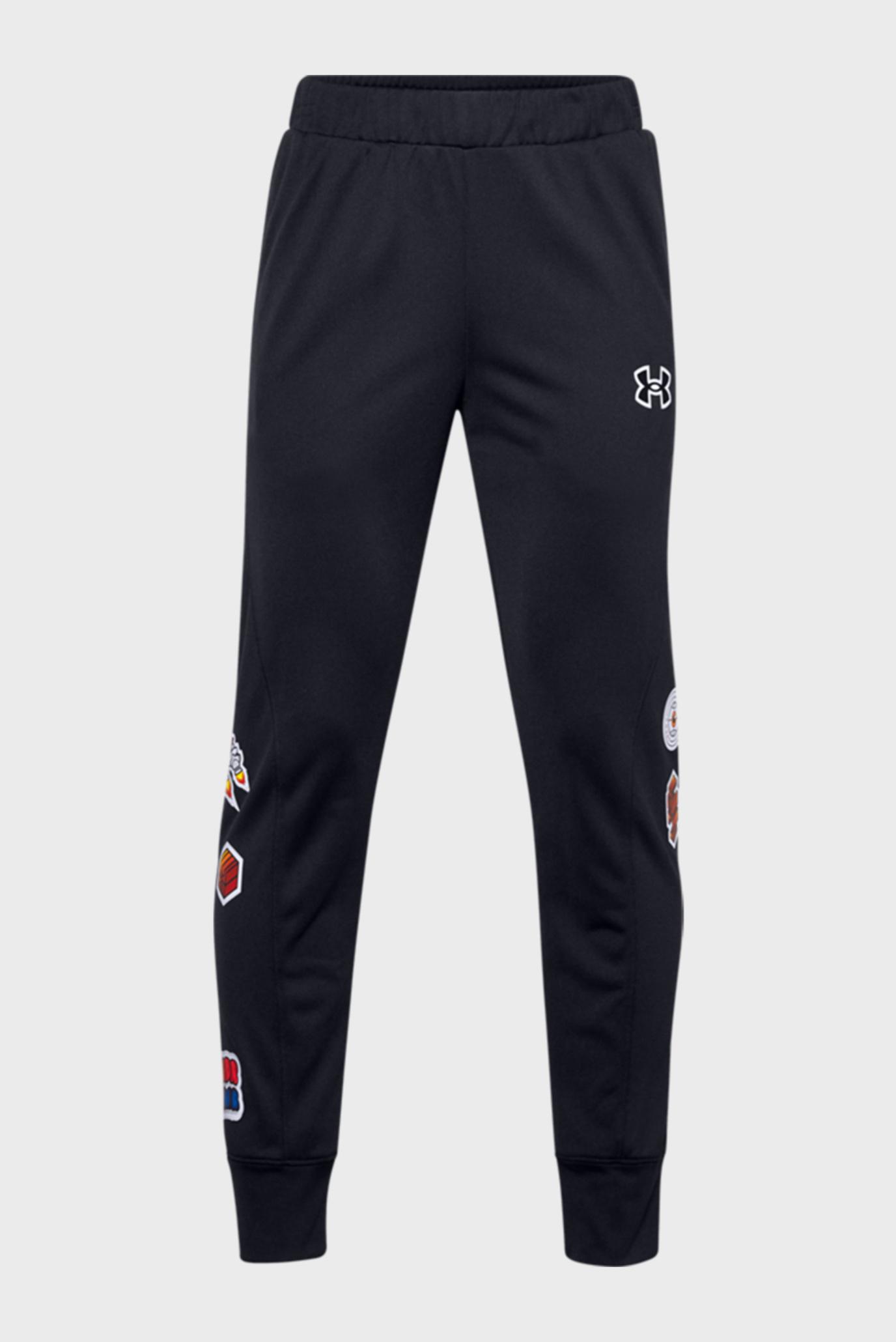 Дитячі чорні спортивні штани Boys Perf Pant 1