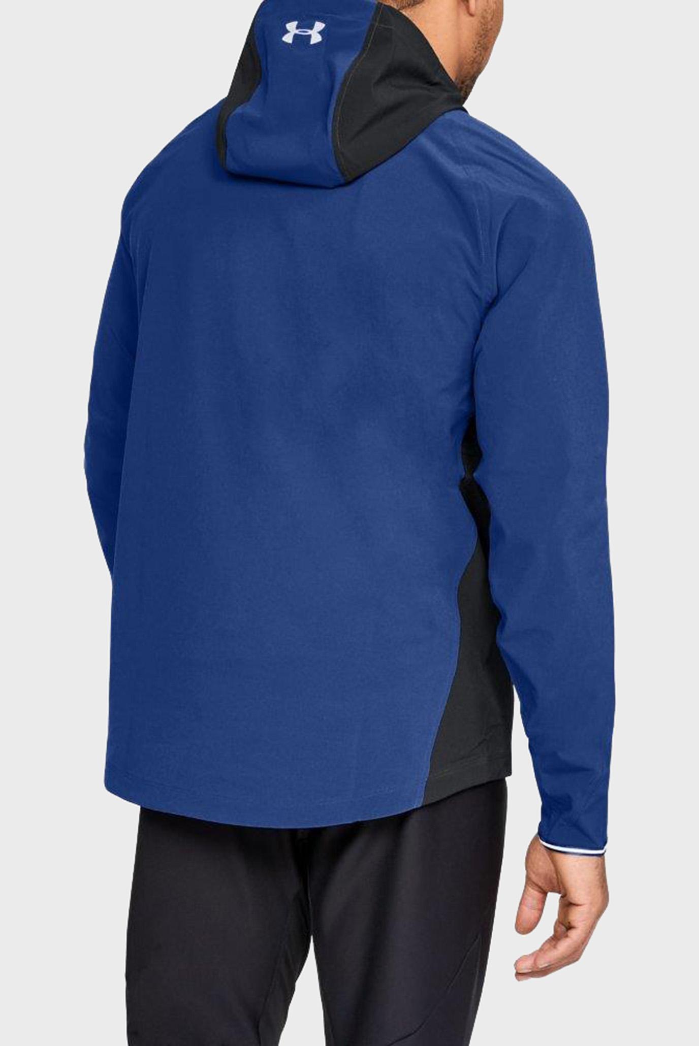 Купить Мужская синяя куртка OUTRUN THE STORM JACKET Under Armour Under Armour 1304579-574 – Киев, Украина. Цены в интернет магазине MD Fashion